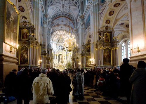 Berneliu misios katedroje kaune